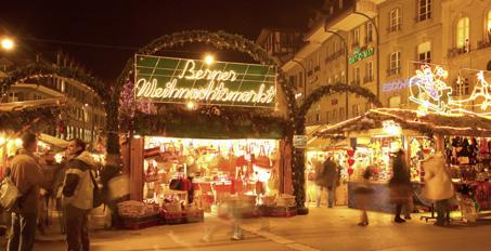 Weihnachtsmärkte in der Schweiz